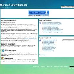 Safety Scanner