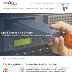 Cloud Server Backup Services