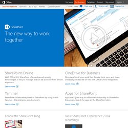 SharePoint Team Blog
