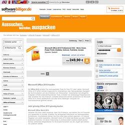 Microsoft Office 2010 günstig kaufen bei softwarebilliger.de