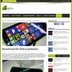 Microsoft Lumia 535, clichés et spécifications