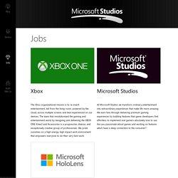 Microsoft Studios - Jobs