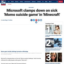 Microsoft clamps down on sick 'Momo suicide game' in 'Minecraft'