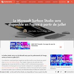 Le Microsoft Surface Studio sera disponible en France à partir de juillet - Tech