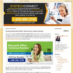 Embrace Microsoft Office Technical for Instant Solution