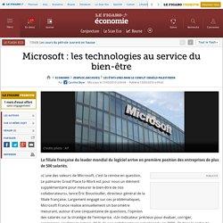 Microsoft: les technologies au service du bien-être