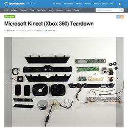 Microsoft Kinect (Xbox 360) Teardown