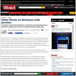 Pour lancer 7, Microsoft ouvre un café dédié à l'univers de