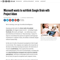 Microsoft wants to out-think Google Brain with Project Adam