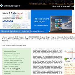 800-961-1963-Microsoft Windows 10 Support Phone Number