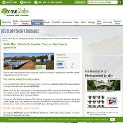 BoP- MicroSol de Schneider Electric électrise la pyramide