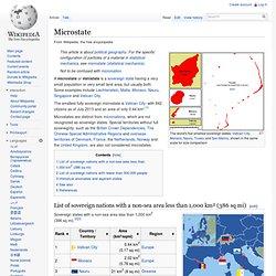 Microstate