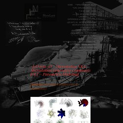 +[2D into 3D - Microstation VBA- Microstation Generative Componets [GC] – Parametric Modeling] « MariaLardi