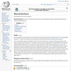 Microturbulence, wikipedia