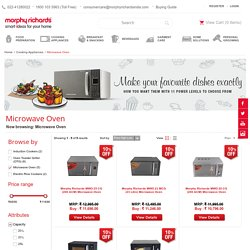 Buy Microwave Oven Online at Best Price In India