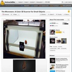 Le Micro-ondes: Un scanner 3D couleur pour petits objets