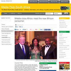 Middle class Africa: meet the new African consumer