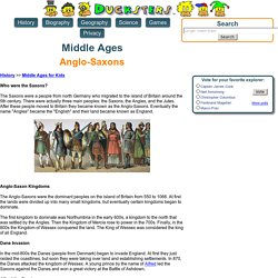 Middle Ages for Kids: Anglo-Saxons of England