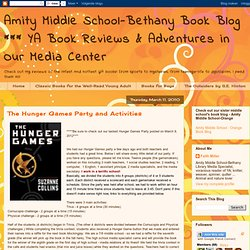The Hunger Games Party and Activities