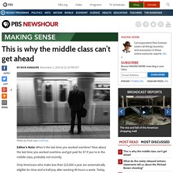 This is why the middle class can't get ahead