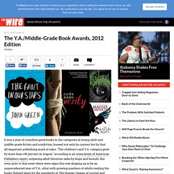 The Y.A./Middle-Grade Book Awards