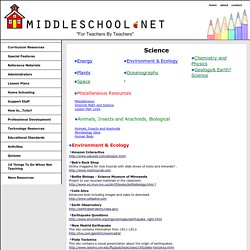 Best Middle School Science Resource