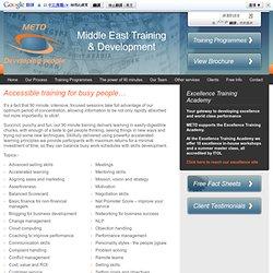 Middle East Training & Development
