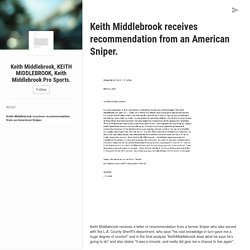 Keith Middlebrook