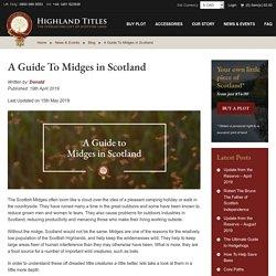 Scottish Biting Midges