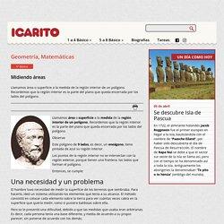 Midiendo áreas Icarito