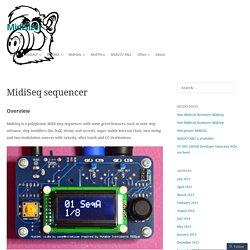 MidiSeq sequencer