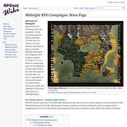 Midnight RPG Campaigns: Main Page - RPGnetWiki