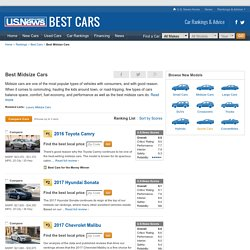 Best Midsize Cars Rankings