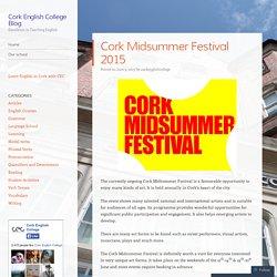 Cork Midsummer Festival 2015