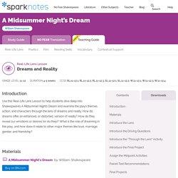 A Midsummer Night's Dream: Teaching Guide