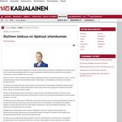 Kolumnit - Mielipiteet - Mielipide - Karjalainen