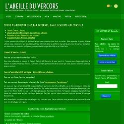 Miellerie ALPHONSE - Stage et cours apiculture BIO Drôme