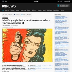 Miss Fury might be the most famous superhero you've never heard of