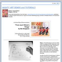 Bet Borgeson Colored Pencil Demo