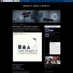Mighty Mike's boots