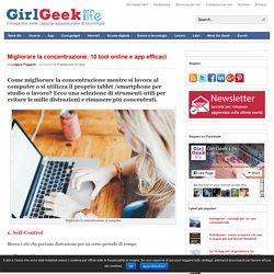 Migliorare la concentrazione: 10 tool online e app efficaci