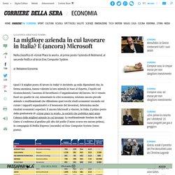 La migliore azienda in cui lavorare in Italia? È (ancora) Microsoft