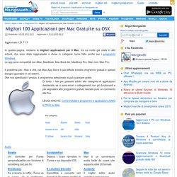 Migliori 100 Applicazioni per Mac Gratuite su OSX