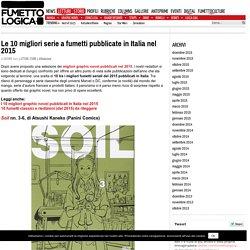 Le 10 migliori serie a fumetti pubblicate in Italia nel 2015