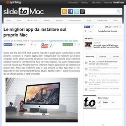Le migliori app da installare sul proprio Mac