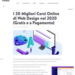 I 20 Migliori Corsi Online di Web Design nel 2020 (Gratis e a Pagamento)