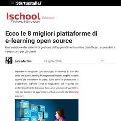 Ecco le 8 migliori piattaforme di e-learning open source