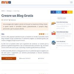 I migliori 9 servizi per creare un blog gratis