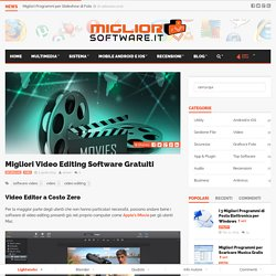 Migliori Video Editing Software Gratuiti