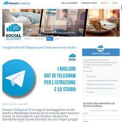 I migliori bot di Telegram per l'istruzione e lo studio